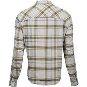 PEARL iZUMi Rove LS Shirt Men, turbulence/gold plaid